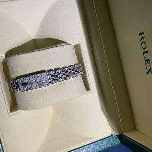 Lady Rolex 26MM datejust Jubilee Diamond watch